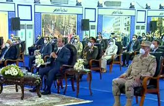 الرئيس السيسي: الوضع في مصر تحت السيطرة.. وعلينا الاستمرار في الإجراءات الاحترازية لمنع انتشار كورونا