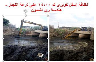 الري: تحصيل 245 مليون جنيه مقابل تبديد المياه وحق الانتفاع| صور