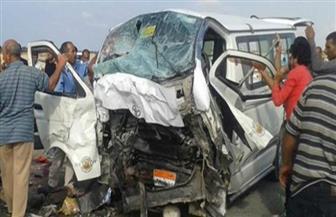 نيابة البرلس بكفرالشيخ تصرح بدفن 3 أشخاص لقوا مصرعهم في حادث تصادم| صور