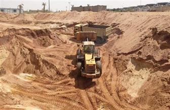 بعد اتخاذ الإجراءات الاحترازية.. بدء أعمال الحفر بصالة «كاراتيه الأهلي» فرع زايد