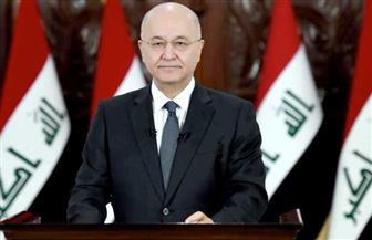 الرئيس العراقي يؤكد أهمية تفعيل مخرجات مؤتمر المانحين لإعادة إعمار العراق