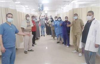 خروج 14 شخصا من مستشفى العزل بالأقصر | صور