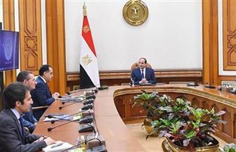 تفاصيل اجتماع الرئيس السيسي لاستعراض عدد من مشروعات وزارة الزراعة في مجال استصلاح الأراضي