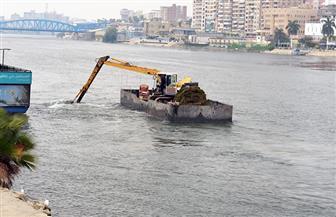 تطهير مجرى النيل وأعمال ري بمدينة المنصورة بتكلفة 41 مليون جنيه