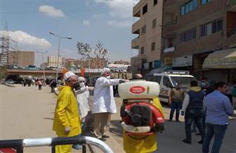 محافظة الجيزة: فرق التطهير والتعقيم تجوب شوارع المعتمدية | صور