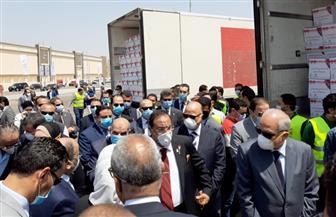 """محافظ القاهرة: """"تحيا مصر"""" وفر 20 طن لحوم و10 آلاف كرتونة مواد غذائية للأسر الأكثر احتياجا  صور"""