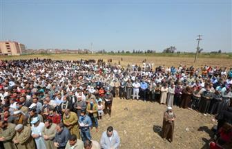 تشييع جثمان شهيد الواجب الوطني الملازم عبد الحميد صبح بقرية ديمشلت بالدقهلية  صور