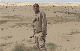 تشييع جثمان شهيد الواجب الوطني المجند أبانوب عبدالتواب بقرية طوخ في المنيا