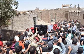 سوهاج تودع شهيدي الواجب الوطني فى جنازتين مهيبتين| صور