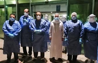 """""""صحة الغربية"""": خروج أول حالة استقبلها مستشفى العزل الصحي بكفر الزيات   صور"""