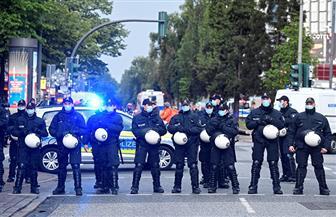 الشرطة تفض مظاهرة في هامبورج ومناوشات بينها وبين متظاهرين في برلين