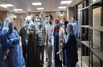 """""""مستشفى الحجر الصحي"""" بقها: خروج 11 حالة شفاء من فيروس كورونا"""