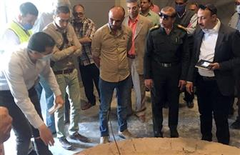 وفد من وزارة السياحة والآثار يتفقد أعمال إنشاء متحف كفر الشيخ | صور