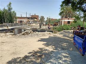 """رئيس مركز سنورس بالفيوم: الانتهاء من ترميم كوبري """"عبدالعظيم"""" بطريق البحيرة قريبًا  صور"""