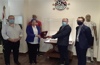 بروتوكول تعاون بين مصر وأستراليا ونيوزيلندا على مستوى الكرة النسائية | صور