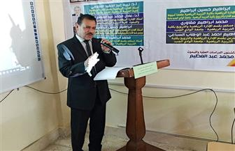 رئيس جامعة الوادي الجديد يتفقد موقع كلية الزراعة الجديد