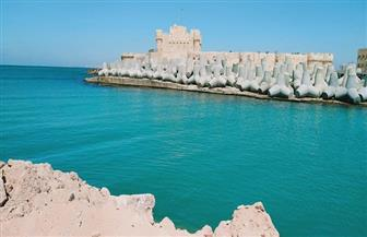 «آثار الإسكندرية»: إنجاز 40% من مشروع حماية الشواطئ حول قلعة قايتباي | صور