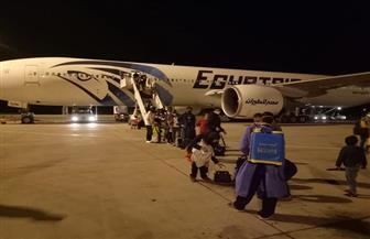 وصول 233 من المصريين العالقين في لندن إلى مطار مرسى علم | صور