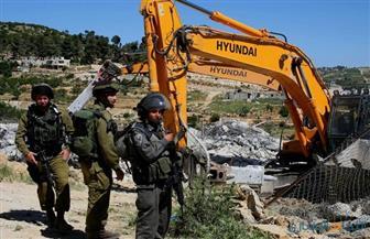 آليات إسرائيلية تهدم منزل أسير فلسطيني برام الله