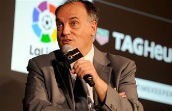 رئيس رابطة الدوري الأسباني يأمل في عودة المباريات يوم 12 يونيو