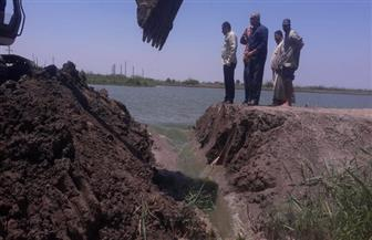 إزالة 4 مزارع سمكية مخالفة في حملة لإزالة التعديات بمنطقة جنوب بورسعيد | صور