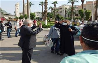 محافظ الجيزة: استقبال 750 مصريا من العالقين بالكويت.. وتسكينهم في المدن الجامعية | صور