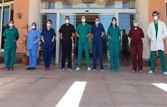 """ارتفاع أعداد المتعافين من """"كورونا"""" بمستشفى أبو قير إلى 379 حالة"""
