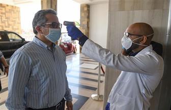 وزير السياحة والآثار يتفقد العيادات الطبية بفنادق البحر الأحمر للتأكد من ضوابط السلامة الصحية   صور