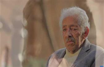 وداعا آدم حنين.. راهب النحت الذي حاور الحجر 70 عاما | صور