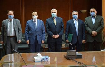 وزيرا الري والتنمية المحلية يشهدان توقيع بروتوكول لدعم التنسيق فى حماية شبكة الترع والمصارف