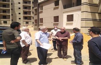 73 % نسبة الإنجاز فى وحدات إسكان العاملين بالعاصمة الإدارية بمدينة بدر  | صور