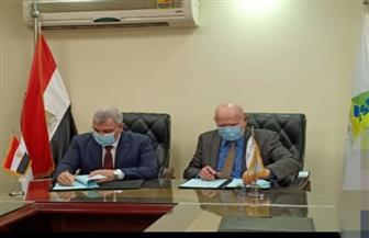 توقيع اتفاق بين سلامة الغذاء والرقابة على الصادرات والواردات لفحص العينات الغذائية   صور