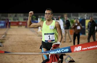 أحمد الجندي: «أواصل التدريب في المنزل استعدادا لعودة المنافسات والتأهل للأولمبياد»   صور