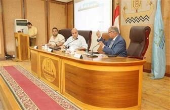 تفعيل الخدمات الإلكترونية بالإدارات المالية والمراكز التكنولوجية في كفر الشيخ | صور