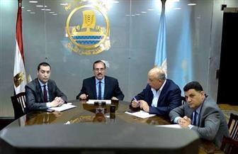 محافظ كفر الشيخ يعقد اجتماعا عبر الفيديو كونفرانس مع رؤساء المراكز | صور
