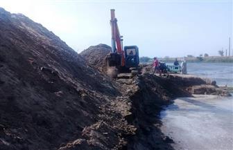 إزالة 10 آلاف متر مكعب من الردم تعدت بها شركة كبرى على النيل في حلوان   صور وفيديو