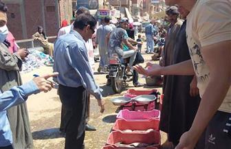 تحرير 271 محضرا تموينيا متنوعا في حملات بسوهاج | صور