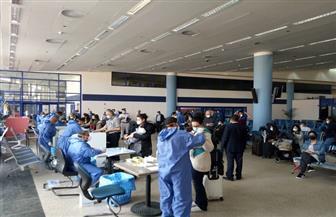 وصول 332 من المصريين العالقين في كندا إلى مطار مرسى علم | صور