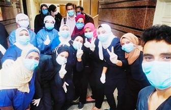 مغادرة 257 مصابا بـ كورونا العزل بالمدينة الجامعية بالمنصورة حتى الآن| صور