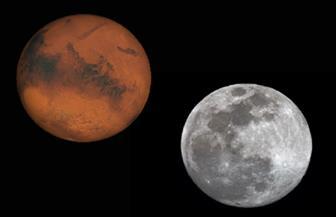 ترقبوا.. القمر قرب الكوكب الأحمر فجر الجمعة