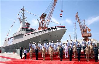 وزير الدفاع يدشن فرقاطة شبحية جديدة من طراز جوويند