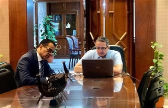 وزير السياحة والآثار يستعرض جهود الدولة لدعم القطاع مع 20 من سفراء دول العالم|صور