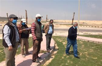رئيس جهاز مدينة برج العرب الجديدة يتفقد سير العمل بالمشروعات الجاري تنفيذها بالمدينة