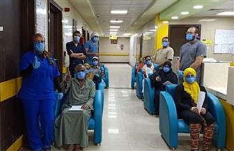 خروج 11 حالة تعافي من العزل بإسنا جنوب الأقصر | صور
