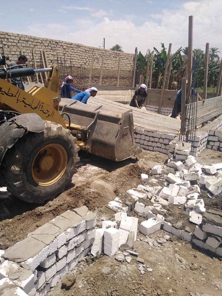 إزالة مخالفات البناء والتعديات بأسيوط