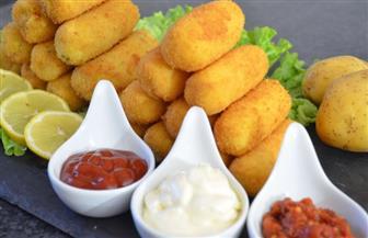 طريقة عمل كروكيت البطاطس بالجبنة والبقدونس