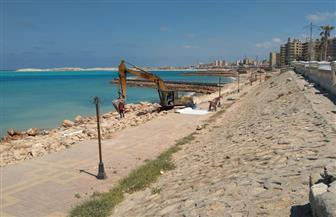 تطوير شاطئ العوام  بمرسى مطروح |صور