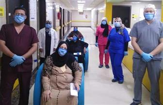 مغادرة 21 متعافيا من كورونا مستشفى العزل بإسنا جنوب الأقصر| صور