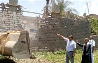 محافظ أسيوط: تنفيذ 30 حالة إزالة خلال يوم واحد لمخالفات البناء والتعديات | صور
