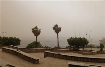 عاصفة ترابية تضرب محافظة الأقصر وانقطاع الكهرباء بعدة أماكن | صور